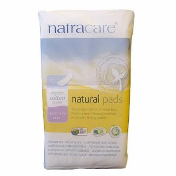 Natracare Natural Pads, Night Time Extra Long, 10 ea 10 ea