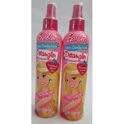 Barbie Cotton Candy Scented Detangler 8 oz (2 Pack)