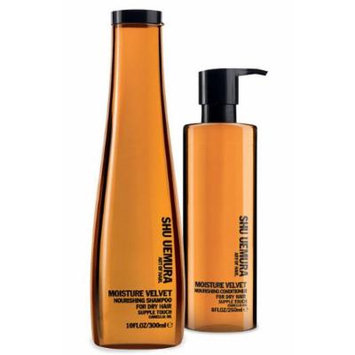 Shu Uemura Moisture Velvet Nourishing Shampoo and Conditioner Value Set