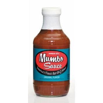 Argia B's Mumbo Sauce Original Mild BBQ Sauce, 18 Ounce (Pack of 6)