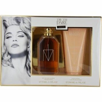 Naked By Madonna By Madonna Eau De Parfum Spray 2.5 Oz & Body Lotion 6.7 Oz For Women