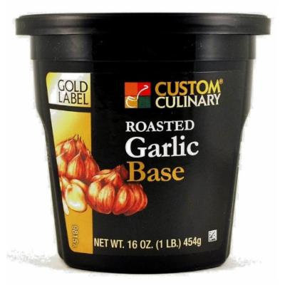Custom Culinary Gold Label Base, Roasted Garlic, 1 Pound
