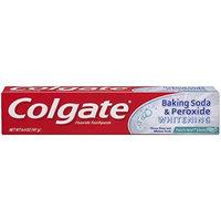 Colgate Baking Soda & Peroxide Whitening Fluoride Toothpaste, Frosty Mint Stripe Gel , 6.4 oz (181 g) Pack of 4