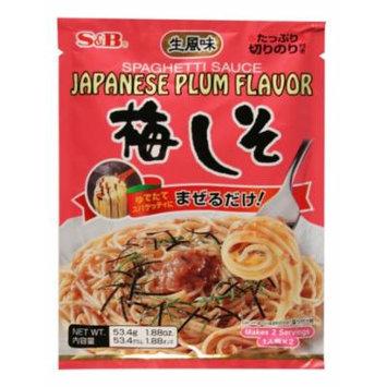S&B Japanese Plum Umeshiso Spaghetti Sauce, 1.88-Ounce