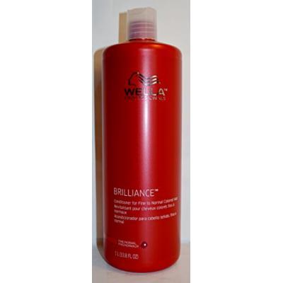 Wella Brilliance Conditioner for Fine to Normal Colored Hair 33.8oz
