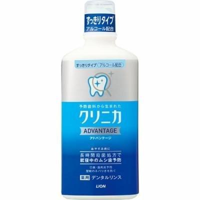 Lion Clinica Advantage Dental Rinse clean type 450ml