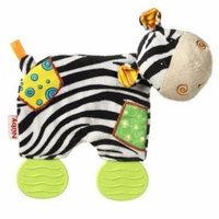 Nuby Art 6176 Plush Pal with Teether Legs Zebra