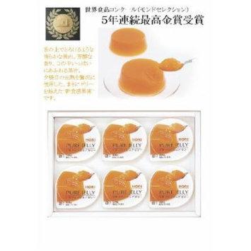 Hori Yubari melon pure jelly six [Hokkaido souvenir]