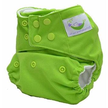Sweet Pea Bamboo AIO One Size Diaper (Apple Green)