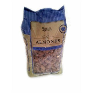 Berkley & Jensen Dry Roasted and Salted California Almonds 2.5 lbs.