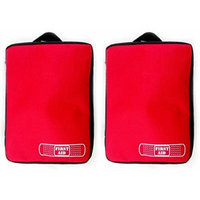 First Aid Empty Kit Bag Travel Camping Sport Medical Emergency Survival Outdoor(2-pack)