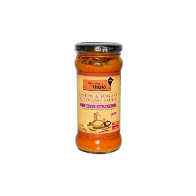 Kitchens Of India Delhi Dum Aloo - Onion and Yogurt Cooking Sauce, 12.2 Ounce -- 6 per case.