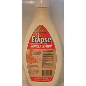 Eclipse Vanilla Syrup, 21-ounce. Bottles (Pack of 2)