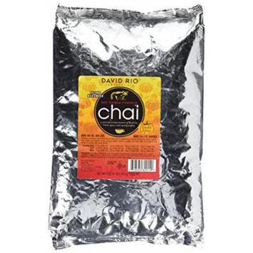 David Rio Red Panda Pumpkin Chai Mix, 4lb. Bag