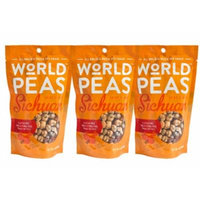World Peas Green Pea Snack, Sichuan Chili, 3 Count