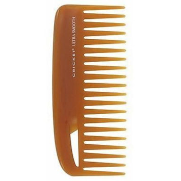 Cricket Ultra Smooth Hair Conditioning Rake Comb infused with Argan Oil, Olive Oil and Keratin