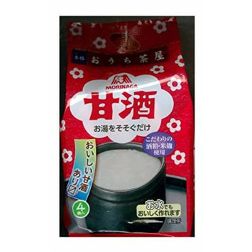 Morinaga Amazake 4 bags input