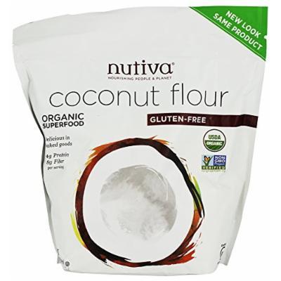 Nutiva - Organic Coconut Flour - 1 lb (pack of 2)
