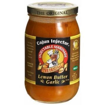 Cajun Injector Lemon Butter Garlic Injectable Marinade, 16 Ounces