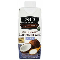 So Delicious - Dairy Free Culinary Coconut Milk Lite - 11 oz. (pack of 2)