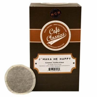 Cafe Classics Coffee Pods, J'Maka Me Happy, 15-Count (Pack of 3)