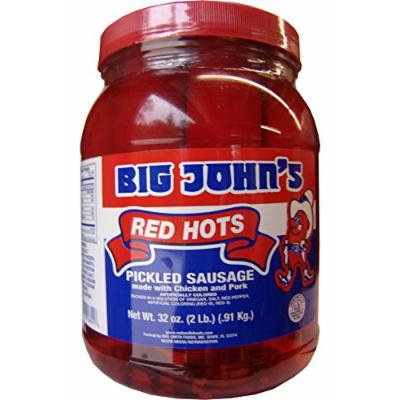 Big John's Pickled Red Hots - 1/2 Gallon