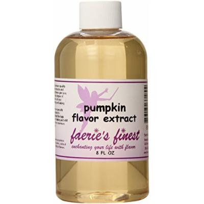 Faeries Finest Flavor Extract, Pumpkin, 8 Ounce