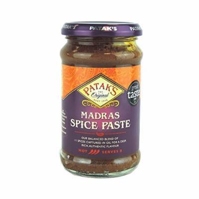 Pataks - Madras Spice Paste - 283g (Case of 6)