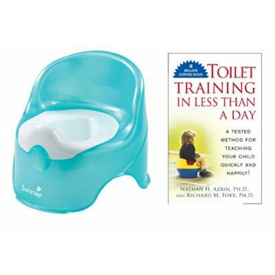 Summer Infant Lil' Loo Potty with Toilet Training In Less Than a Day Guide Book, Teal