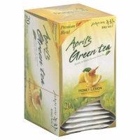 April's Green Tea Honey Lemon, 20-Count Tea Bags (Pack of 6)