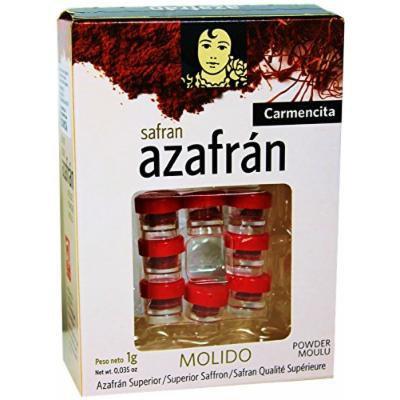 Saffron powder by Carmencita. Imported from Spain 0.035oz