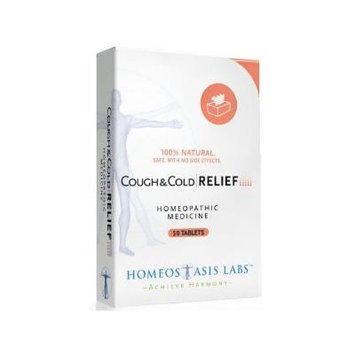 Homeostasis Labs Cough and Cold Relief 50 Count (Pack of 2)