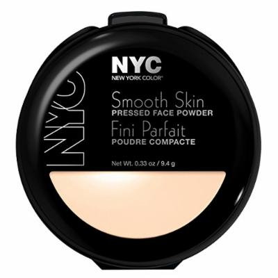 N.Y.C. New York Color Smooth Skin Pressed Face Powder, Translucent, 0.33 Ounce