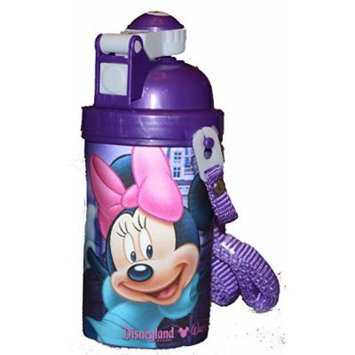 Authentic Disney Minnie Mouse Hologram Sippy Cup Water Bottle