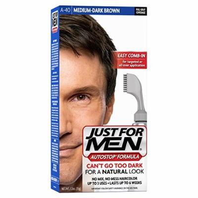 Just For Men AutoStop Men's Hair Color, Medium Dark Brown