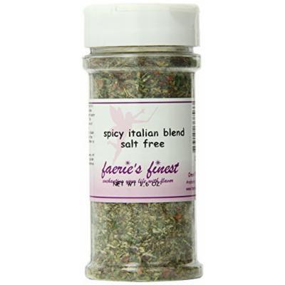 Faeries Finest Spicy Italian Blend, Salt Free, 1.60 Ounce