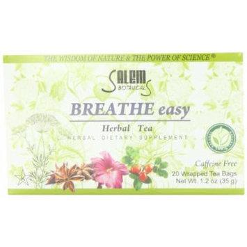 Salem Botanicals Herbal Tea, Breathe Easy, 20 Count