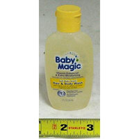 Baby Magic Hair & Body Wash Soft Baby Scent 2 oz each