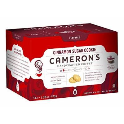 Cameron's Single Serve Coffee, Cinnamon Sugar Cookie, 12 Count