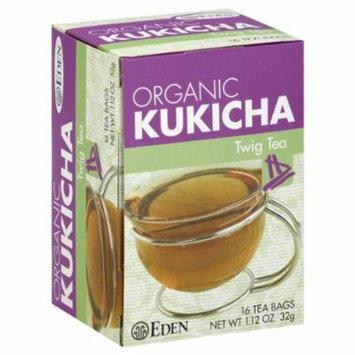 Eden Foods Kukicha Twig Tea 16 Bags (Pack of 3)