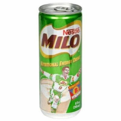 Milo Milo Nutrional Engery, Ready to Drink, 8-ounces (Pack of24)