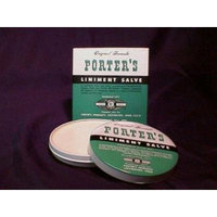 Special pack of 5 Porter's Liniment Salve 2 oz X 5