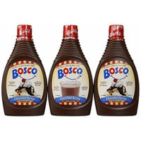 Bosco Chocolate Syrup, 22-oz. squeeze bottle (Pack of 3)