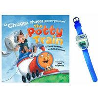 The Potty Train Book by David Hochman & Ruth Kennison with Potty Watch