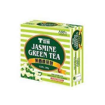 Tradition Jamsmine Green Tea Bag (100bags) X 1