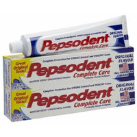 Pepsodent Complete Care Anticavity Toothpaste - 6 oz - 2 pk