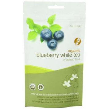 Adagio Teas Organic Tea Bags, White Blueberry, 10 Count
