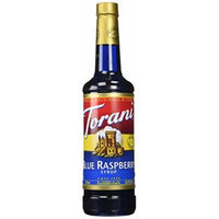 Torani Blue Raspberry Syrup, 750 mL