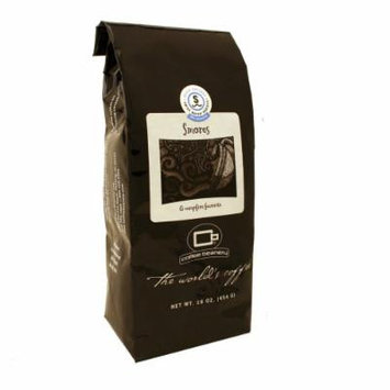 Coffee Beanery S'mores Flavored Coffee SWP Decaf 16 oz. (Whole Bean)