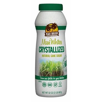 Maui Brand Crystallized Natural Cane Sugar, 6 Count
